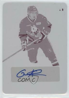 2014 In The Game Leaf Metal Printing Plate Magenta BA-GK1 Graham Knott Auto Card
