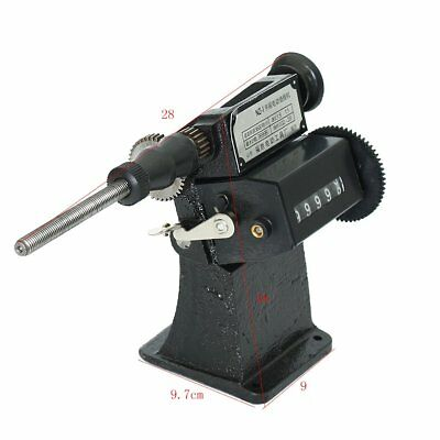 NZ-1 Manual Hand Coil Counting Winding Machine Winder Tool Cast Iron Frame