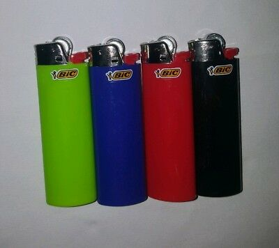 Bic J26 Large Maxi 4 Pack Disposable Gas Lighter Tobacco Cigarette Cigar New