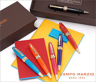 Pens- New Ballpoint Pen From Internationally Known Campo Marzio. Multiple Colors