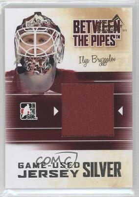 2010 In the Game Between Pipes #M-19 Ilya Bryzgalov Phoenix Coyotes Hockey Card