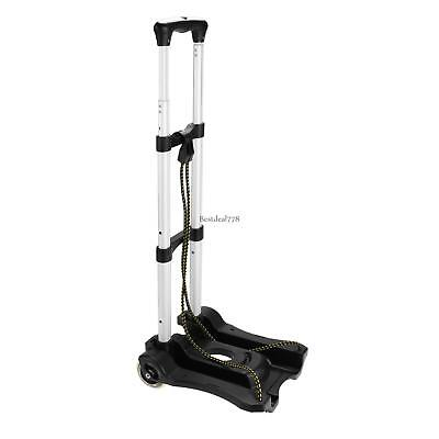 150 lbs Folding Aluminium Cart Luggage Trolley Hand Truck with 2 Lightweght 01