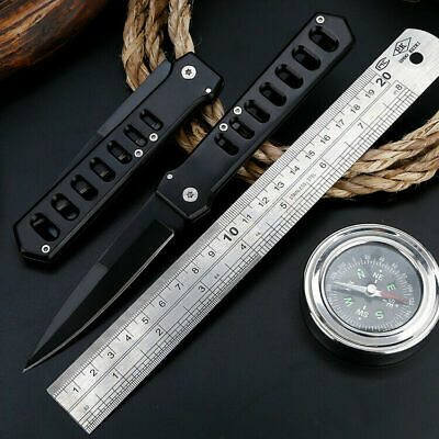 "8"" Tactical Pocket Folding Survival Outdoor Military Blade Open Knife"