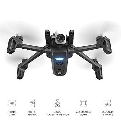 Pro Drone with 4K HDR Camera Compact Silent Autonomous 21 MP photos 25 Minutes