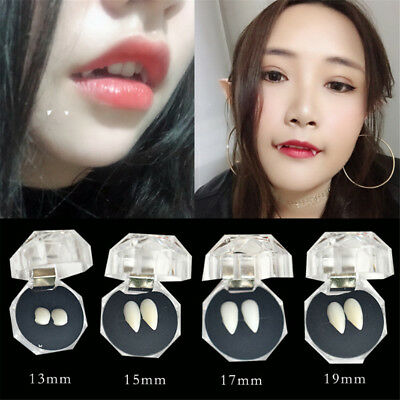 Halloween Cosplay Dentures Vampire Teeth Devil Fangs Costume Ghost Props Hot  HE