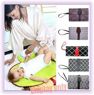 Baby Nappy Changing mat Foldable change Clutch Portable Pad Handbag Wallet