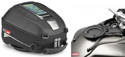 BMW F 800 Gs from Yr 08 Motorcycle Tank Bag Set Givi ST602 4L New