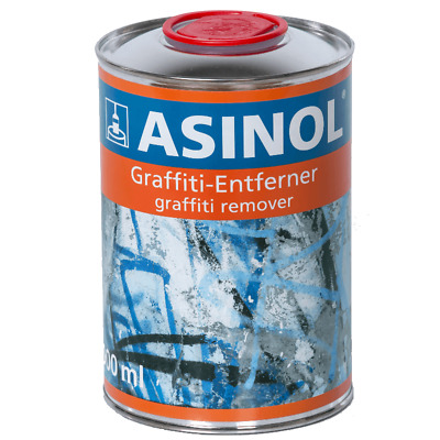 ASINOL Graffiti Grafiti Grafitti Graffitti Entferner Graffitientferner, 1.000 ml