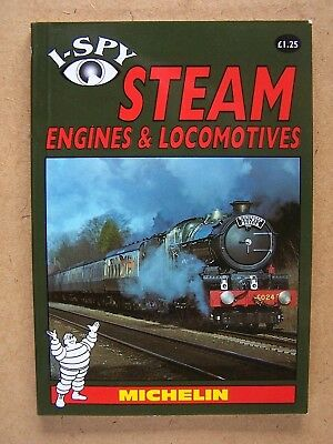 """i-Spy Steam Engines & Locomotives."" Railways Book."