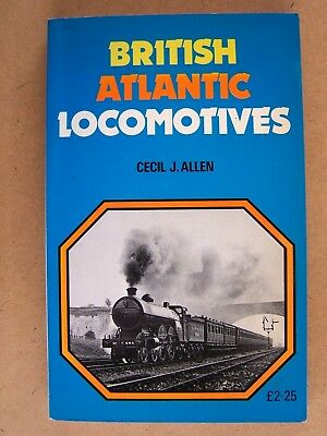 """BRITISH ATLANTIC LOCOMOTIVES."" Steam Locomotives Book."