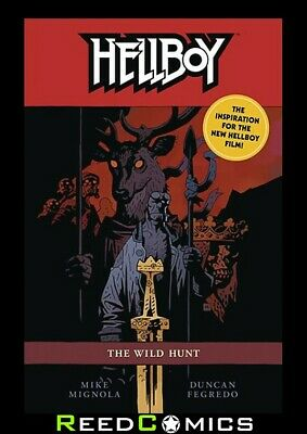 HELLBOY THE WILD HUNT GRAPHIC NOVEL Paperback Collects 8 Part Series (192 Pages)