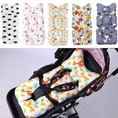 Baby Stroller Seat Thick Cover Padding Pram Liner Pad Cushion Mattress Soft Mat