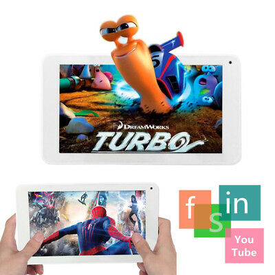 """7"""" Inch Android Tablet 16GB 4 Core Dual Camera Bluetooth Wifi Wireless Tablet UK"""
