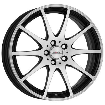 17 Inch Dezent Ti Dark 5x114 3 Et48 7j Black Alloy Wheels Acura Cl