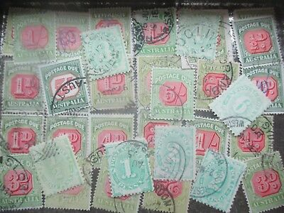 ESTATE: Postage Dues in tin unchecked unsorted - great opportunity   (5229)