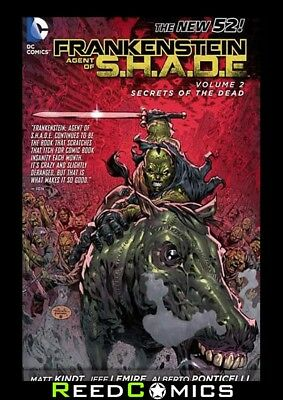 FRANKENSTEIN AGENT OF SHADE VOLUME 2 SECRETS OF THE DEAD GRAPHIC NOVEL Paperback