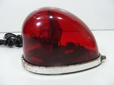 Federal Fire Ball Red Revolving Light 12V  Fb-1