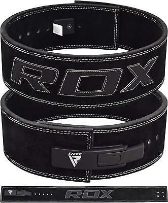 RDX Leather Weight Lifting Belt Powerlifting Bodybuilding Fitness Gym & Training