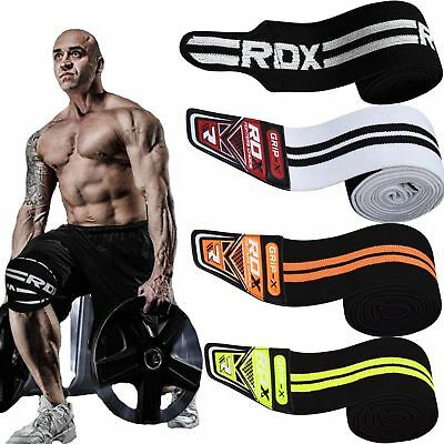 RDX Knee Wraps Weight Lifting Bandage Straps Guard Pads Sleeves Powerlifting Gym