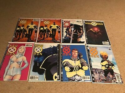 New X-Men 114-156 Complete Comic Collection Job Lot