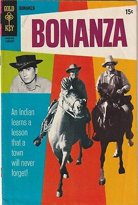Bonanza  Number 35  Gold Key Comics .tv Related. Western  1970