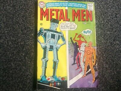 Metal Men 15 Dc Comics 1965 Silver Age