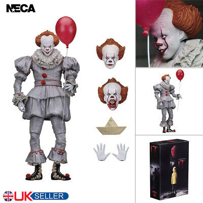"""NECA IT Ultimate Pennywise Clown 7"""" Action Figure 1:12 Movie Toys UK SHIPPING"""