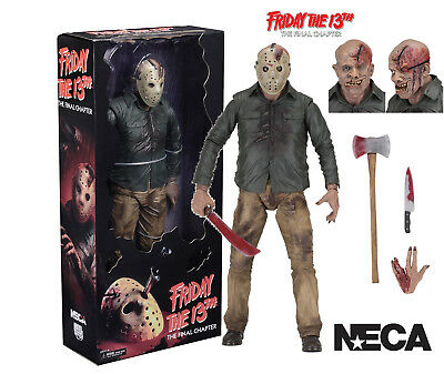 NECA FRIDAY THE 13th PART 4 - THE FINAL CHAPTER - 1/4 SCALE JASON VOORHEES FIGUR