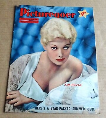 PICTUREGOER  MAGAZINE 21st JULY 1956  KIM NOVAK  COVER