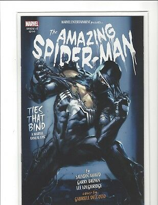 Amazing Spider-Man Annual #1 / Lgy #43 Dellotto Variant Venom Origin Near Mint