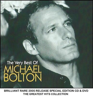 Michael Bolton - Very Best Greatest Essential Hits Collection CD & DVD 80's 90's