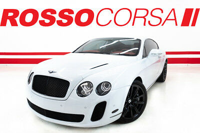 2010 Bentley Continental GT Continental Supersports 2010 Bentley Continental Supersports - FULL BLACKOUT / LOW MILEAGE SUPERSPORTS