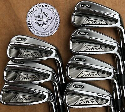 Titleist AP2 FORGED Irons 4 - PW - PROJECT X 5.5 RIFLE SHAFTS