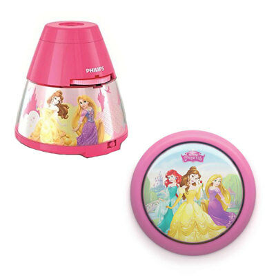 Philips Disney Princess LED Nightlight with Projector and Push Touch Nightlight