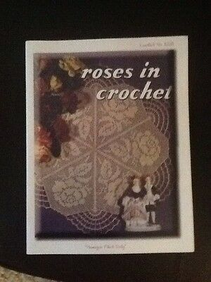 Roses In Crochet Book Patterns No  1225