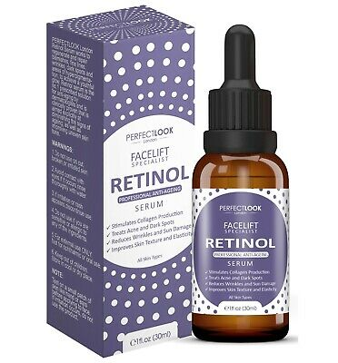 Retinol Serum with Hyaluronic Acid - FACELIFT SPECIALIST by Perfect Look London