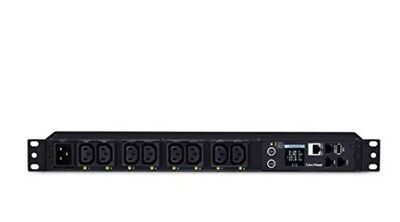 CyberPower PDU81005 Switched Metered-by-Outlet PDU, 100-240V, 16A, 8 Outlets
