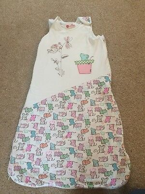 Baby Girls Sleeping Bag Gro Willow Blossom 2.5 Tog 18-36 Months
