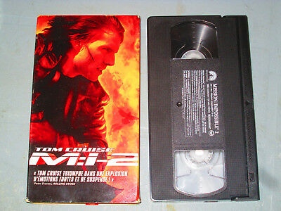 Mission Impossible 2 (VHS)(French) Tom Cruise Testé
