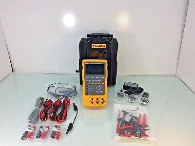 NEW Fluke 754 Documenting Process Calibrator-Hart w/ Case & Test Probes