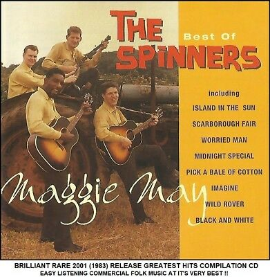 The Spinners - The Very Best Greatest Hits Collection - RARE 2001 70's Folk CD