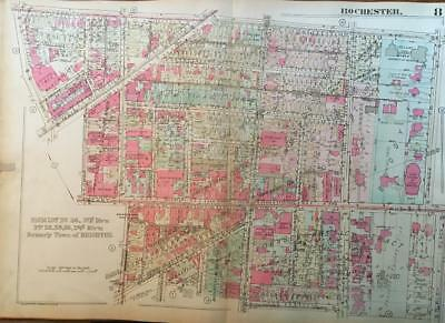 1926 University Of Rochester New York Genesee Valley Club Central Ymca Atlas Map
