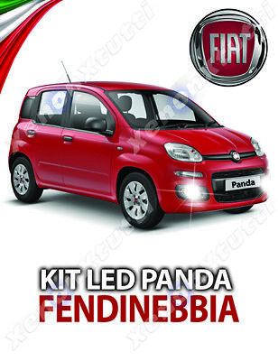 Kit Fari Full Led Fiat Panda 319 Fendinebbia