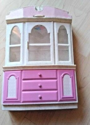 Barbie Vitrine mit Schubladen, TOP!