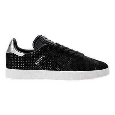 ADIDAS WOMEN GAZELLE Fashion Sneakers black silver BY9363