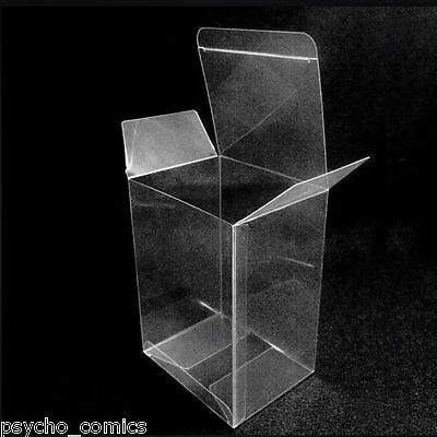 "100 x Vinyl extra thick- Display Box Cases 4"" Protectors for Funko Pop figures"