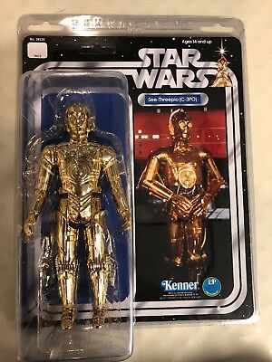 "Star Wars C-3PO Kenner Gentle Giant Action Figure See-Threepio 12""in New"
