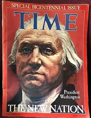 TIME SPECIAL BICENTENNIAL Issue Sept  26, 1789 - $5 00   PicClick