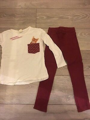 Girls Outfit Age 6 From Zara. Excellent Condition