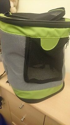 Small Pet Outdoor Backpack Carrier - carry your small dog or puppy
